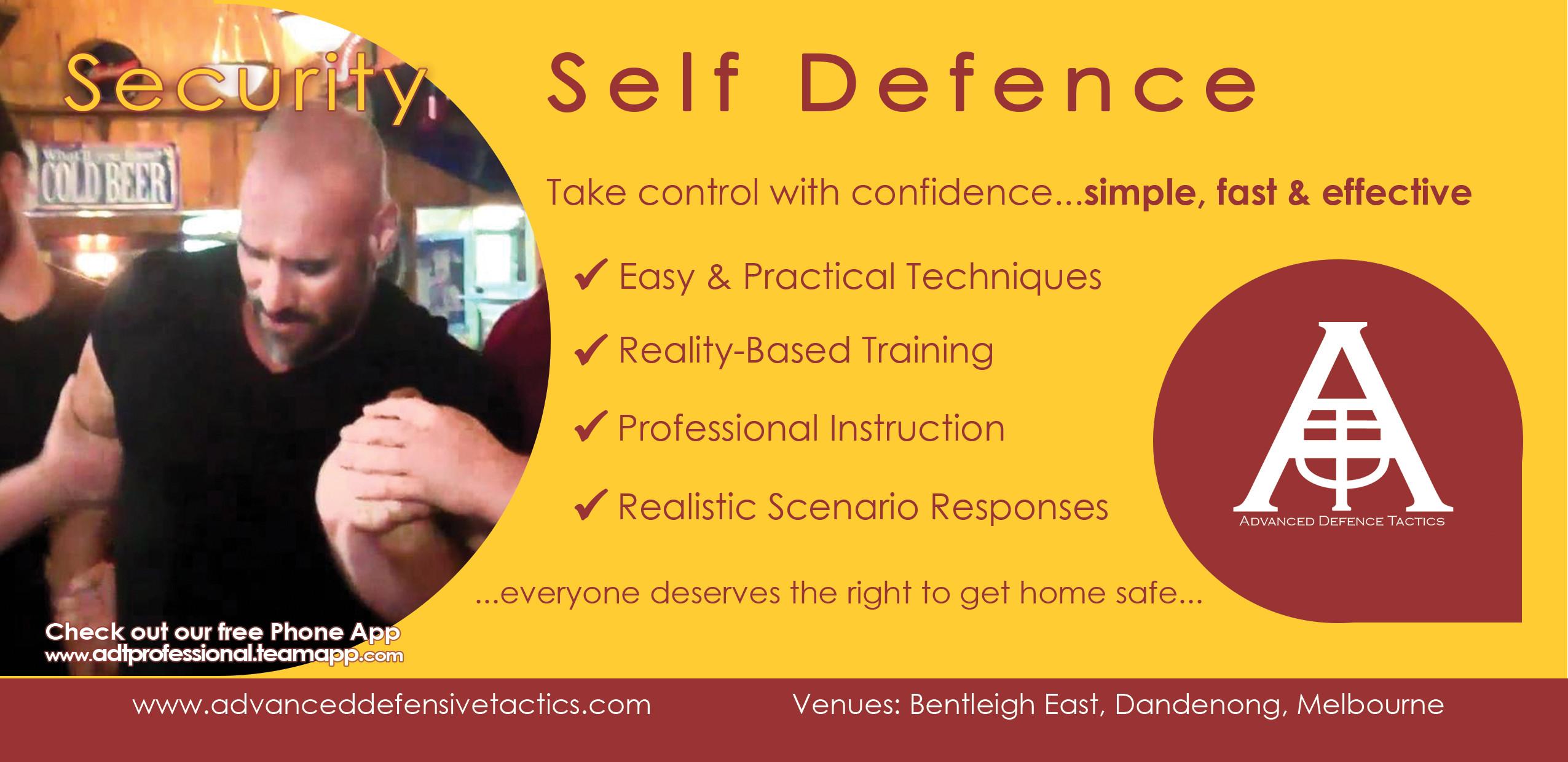 ADT-Professional Self Defence