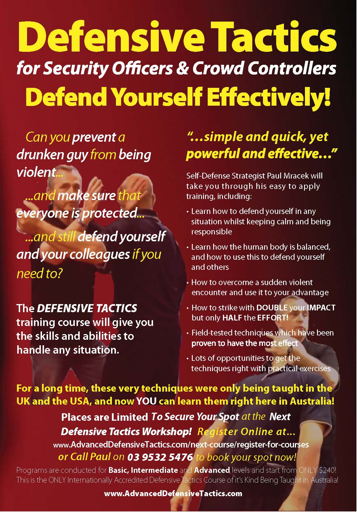 Self Defence - Security